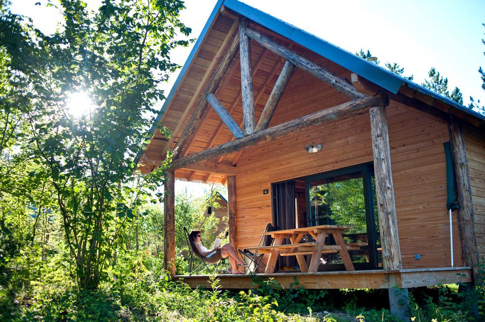 Camping Huttopia Lanmary, Antonne-et-Trigonant, Dordogne
