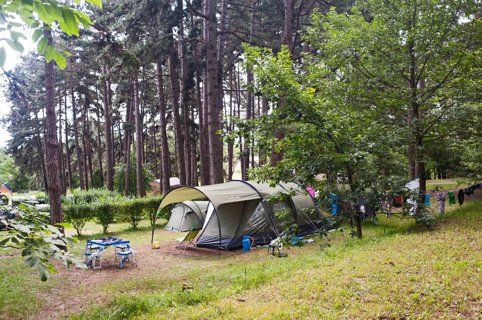 Camping le Fleutron, Divonne-les-Bains, Ain