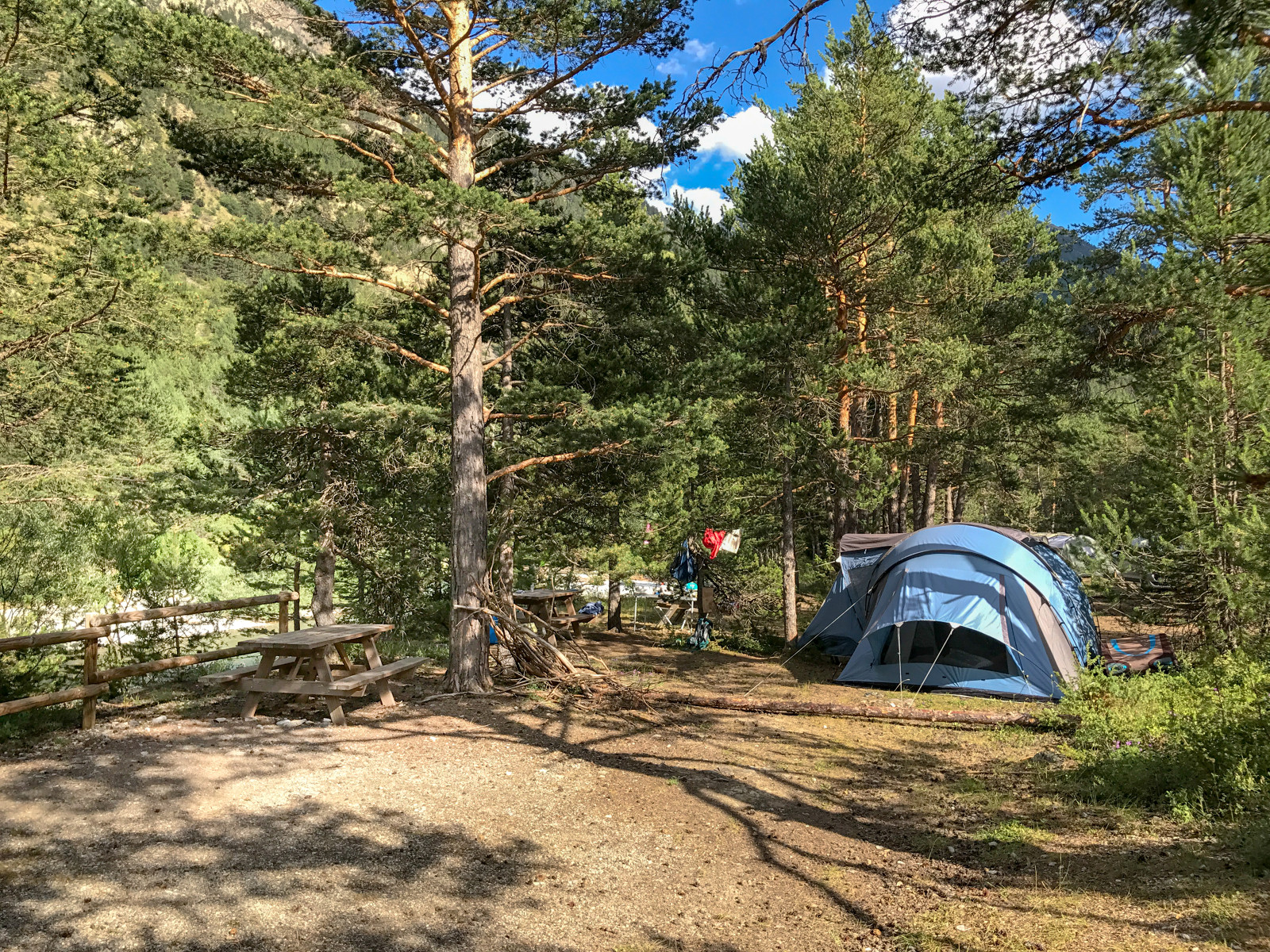 Camping Huttopia la Clarée, Val-des-Prés, Hautes-Alpes