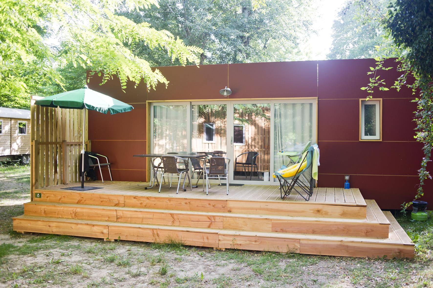 Location - Mobile-Home Vancouver - Camping De l'ill - Colmar
