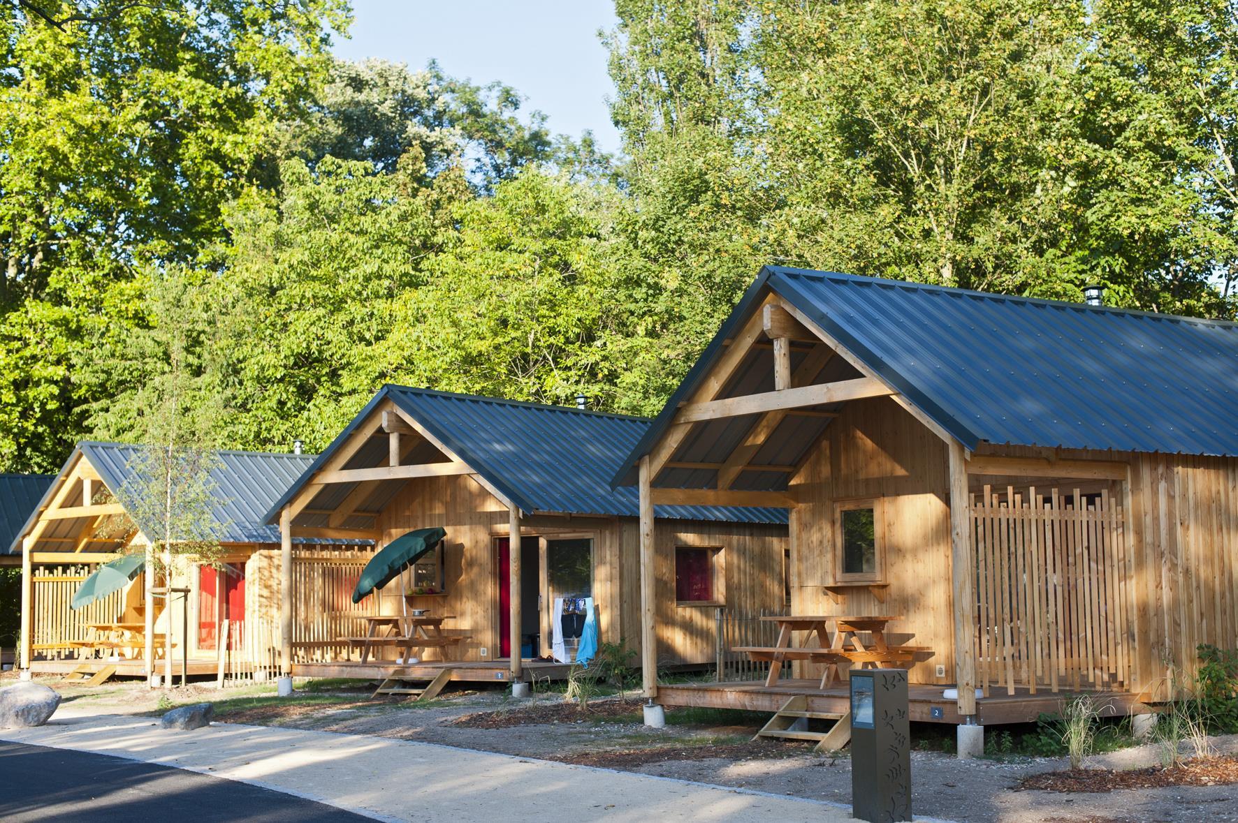 Location - Chalet Montana - Camping De l'ill - Colmar