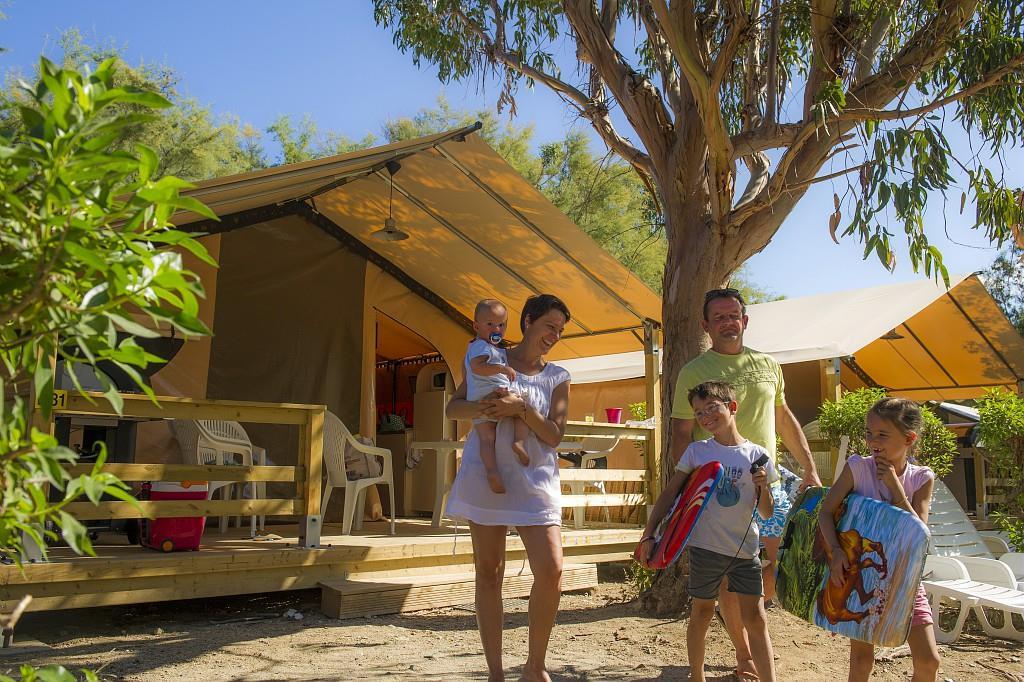 Camping Kalliste, Saint-Florent, Corse