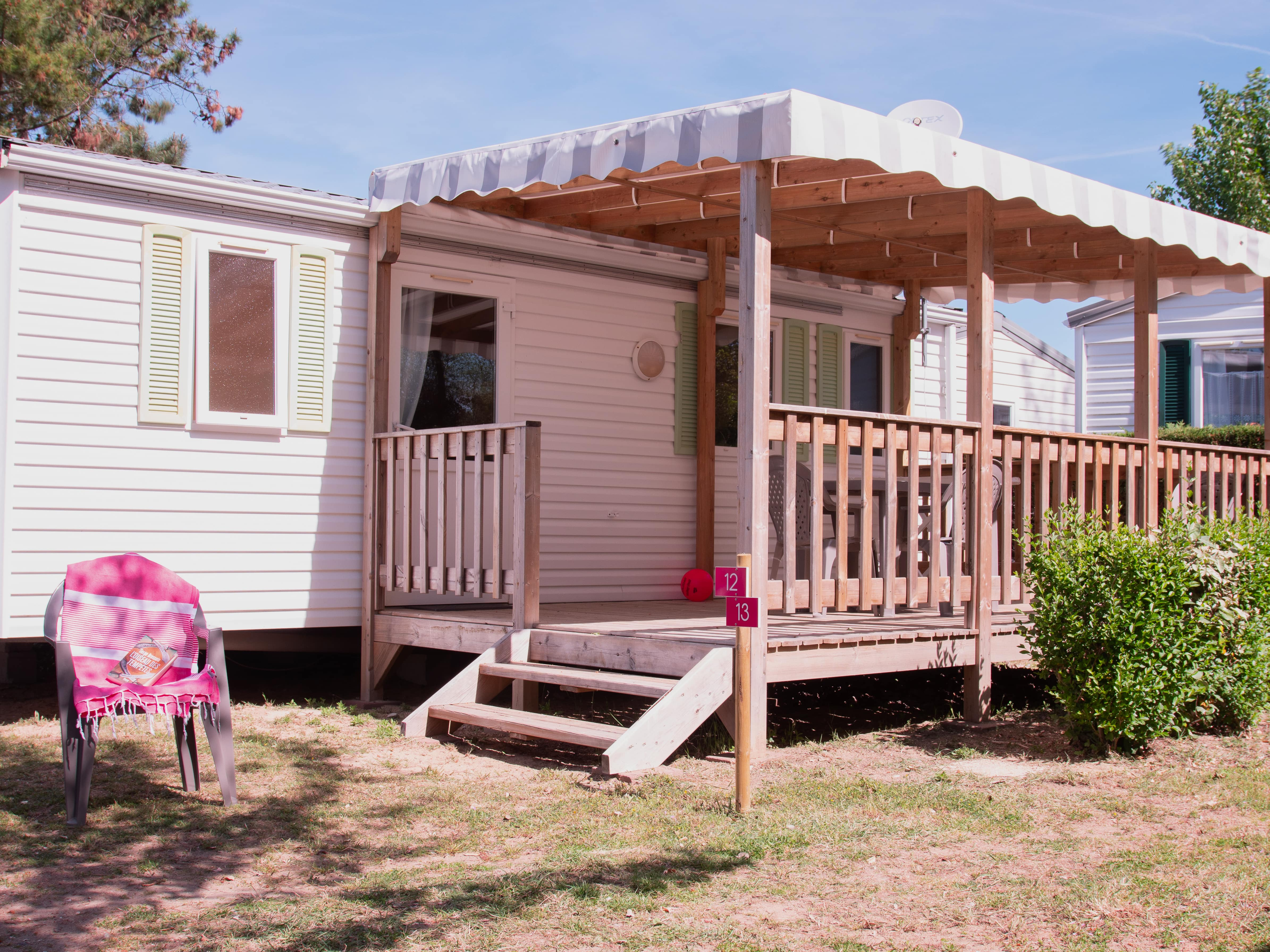 Mobil home Confort 2 chambres  26-28m²