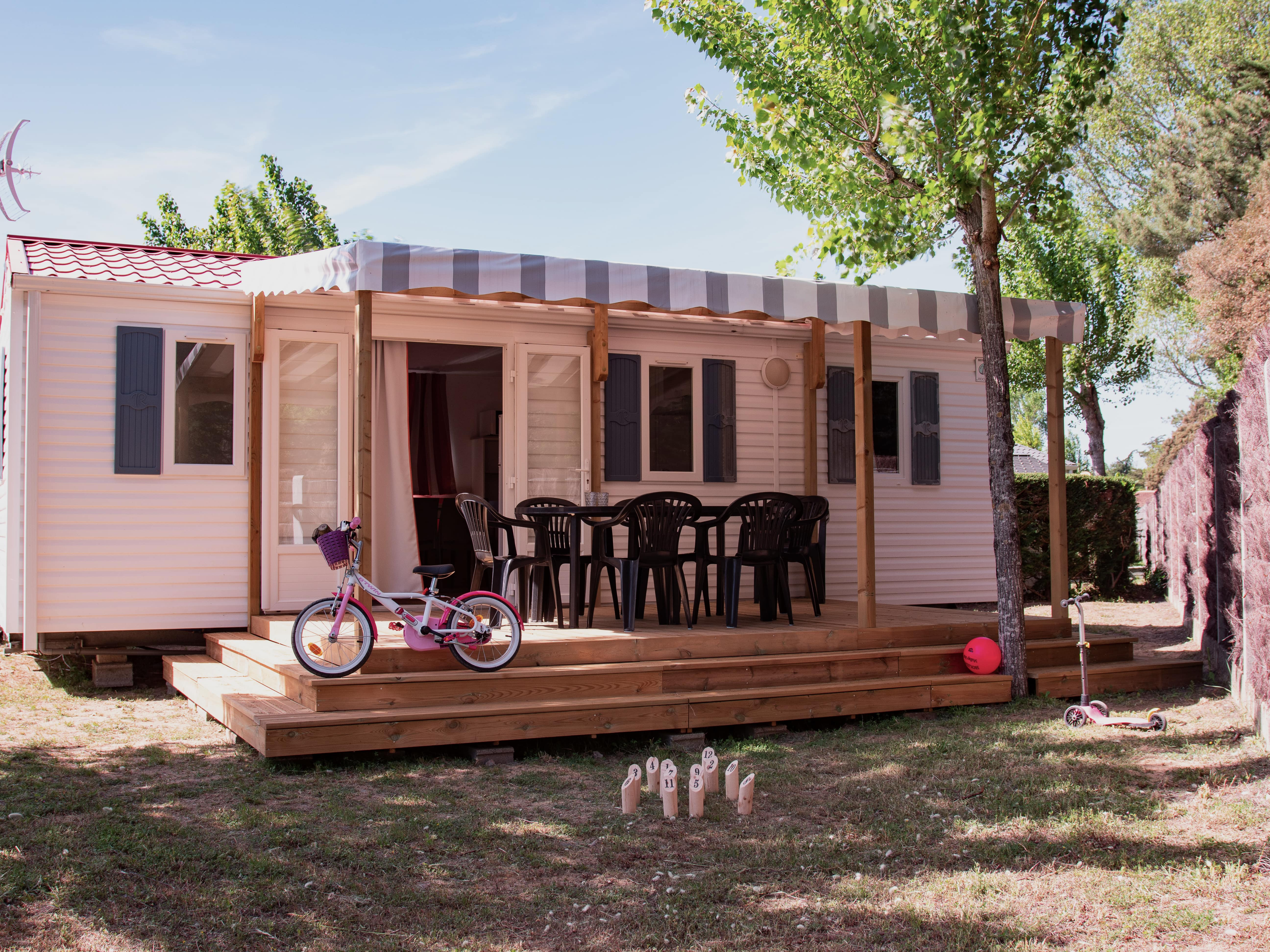 Mobil home Confort 3 chambres 30m²
