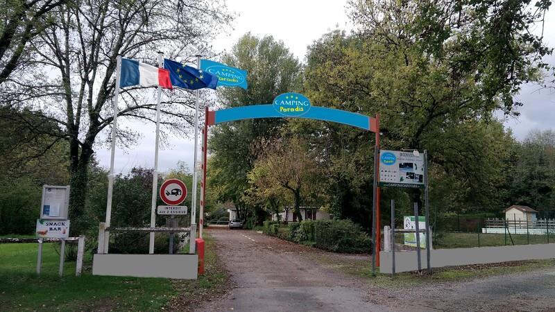 Camping les Belles Rives, Cazoules, Dordogne