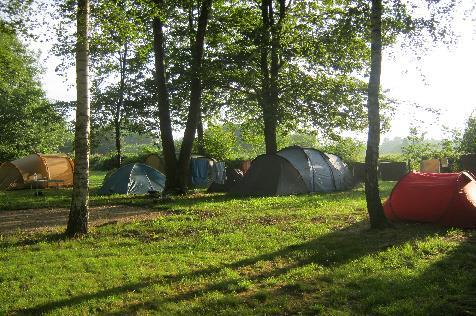Camping la Mare de Roy, Gergy, Saône-et-Loire