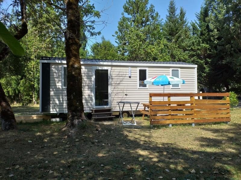 Location - Mobil-Home Titania 2019 - Camping Le Clos des Peupliers
