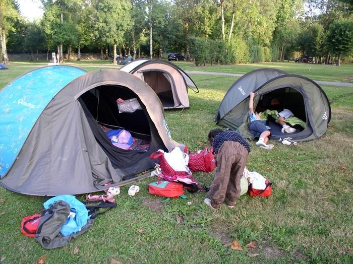 Camping le Martin-Pêcheur, Magné, Deux-Sèvres