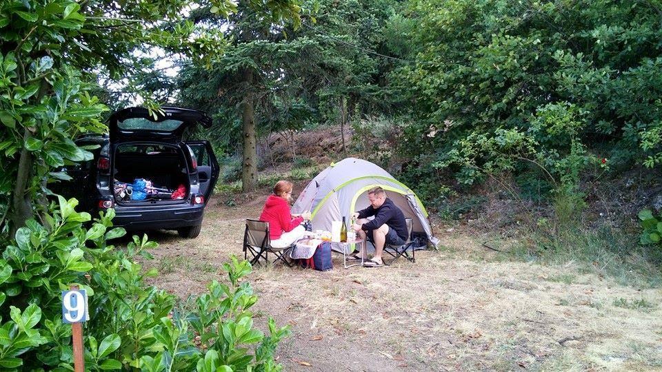 Camping les Cerisiers, Maclas, Loire