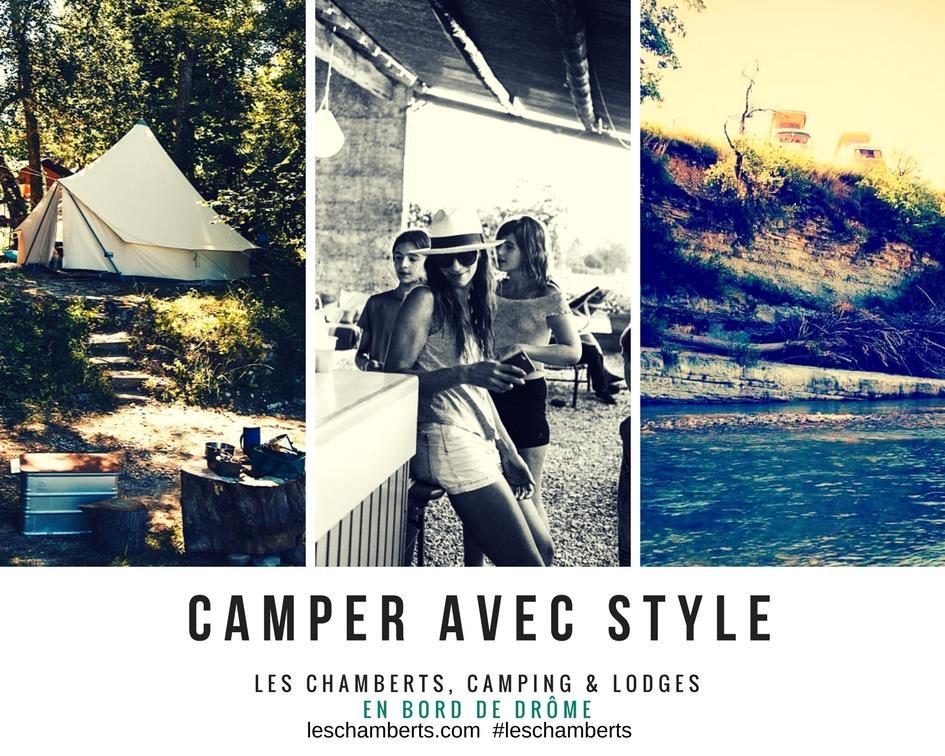 Camping les Chamberts, Piegros-la-Clastre, Drôme