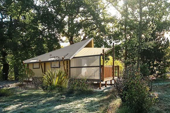 Huuraccommodatie - Jungle Lodge - Camping les Chamberts