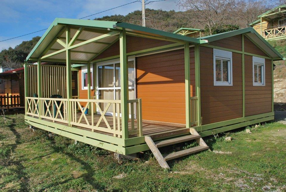 Location - Chalet 3 Chambres - Camping Plein Sud