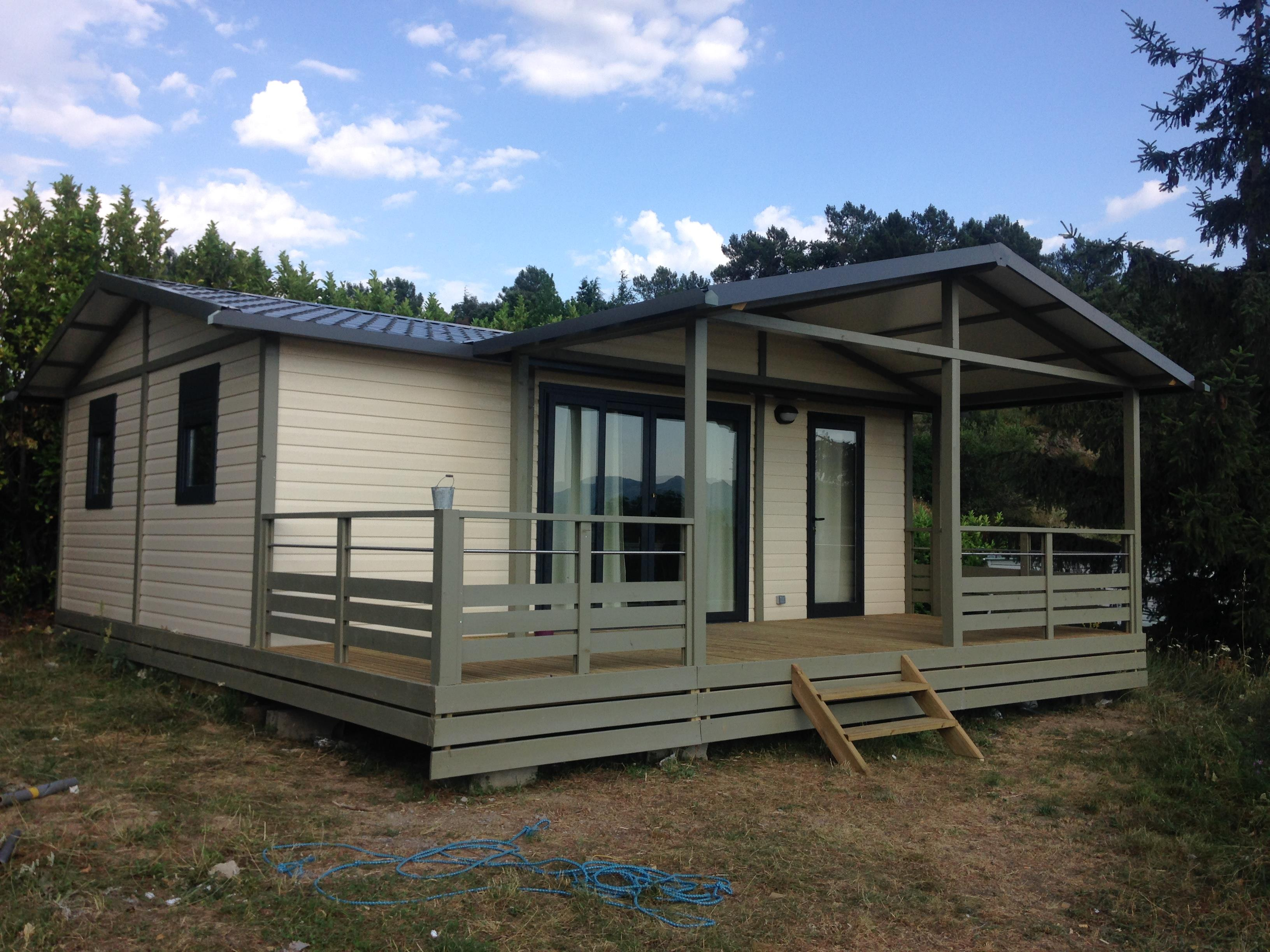 Location - Chalet 8 Personnes - Camping Plein Sud