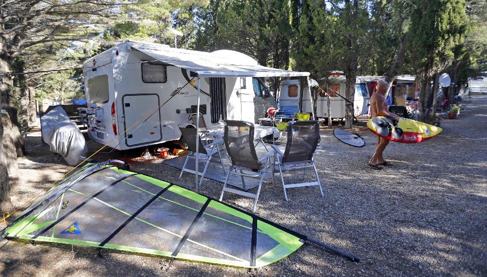 Camping le Clapotis**, La Palme, Aude
