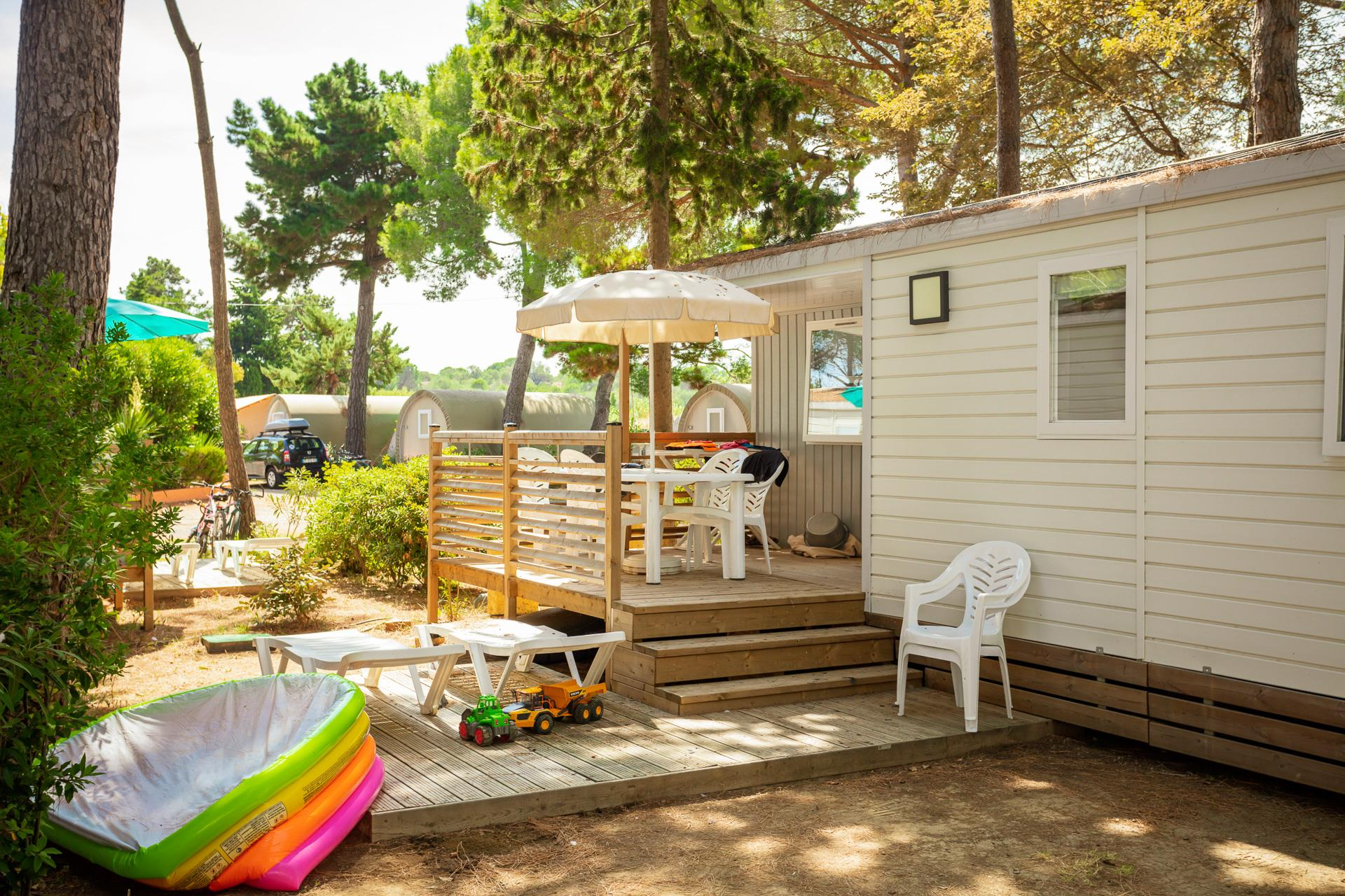 Location - Cottage Ii - Camping Ma Prairie