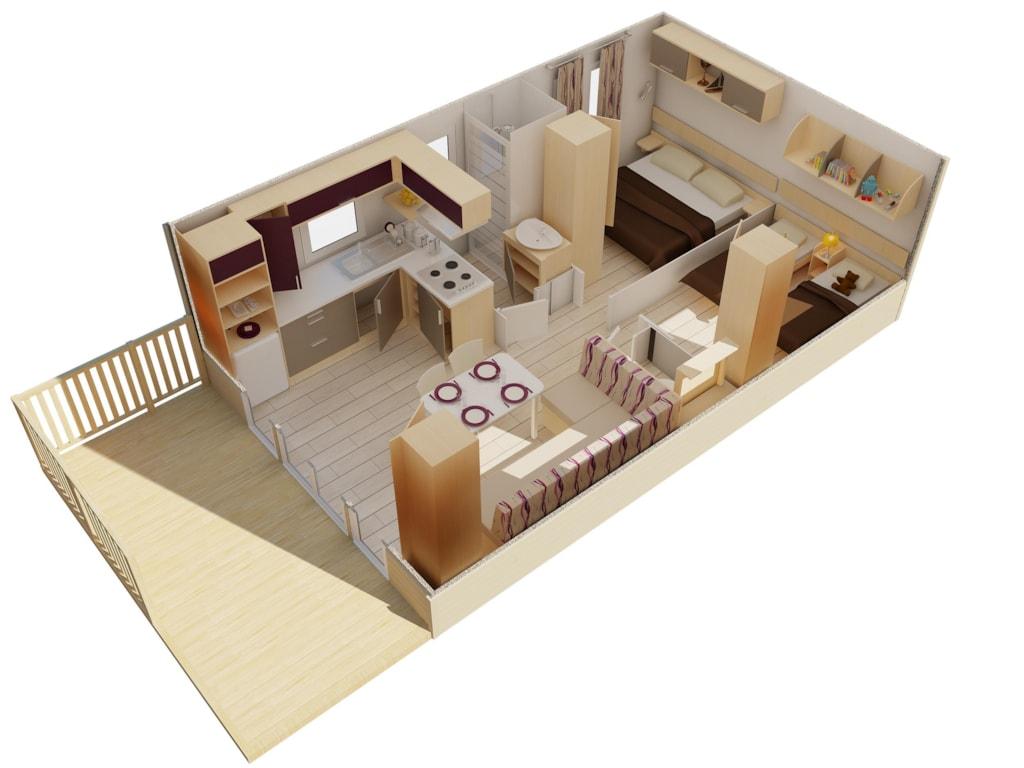 Mobilhome Haus Mediterrane