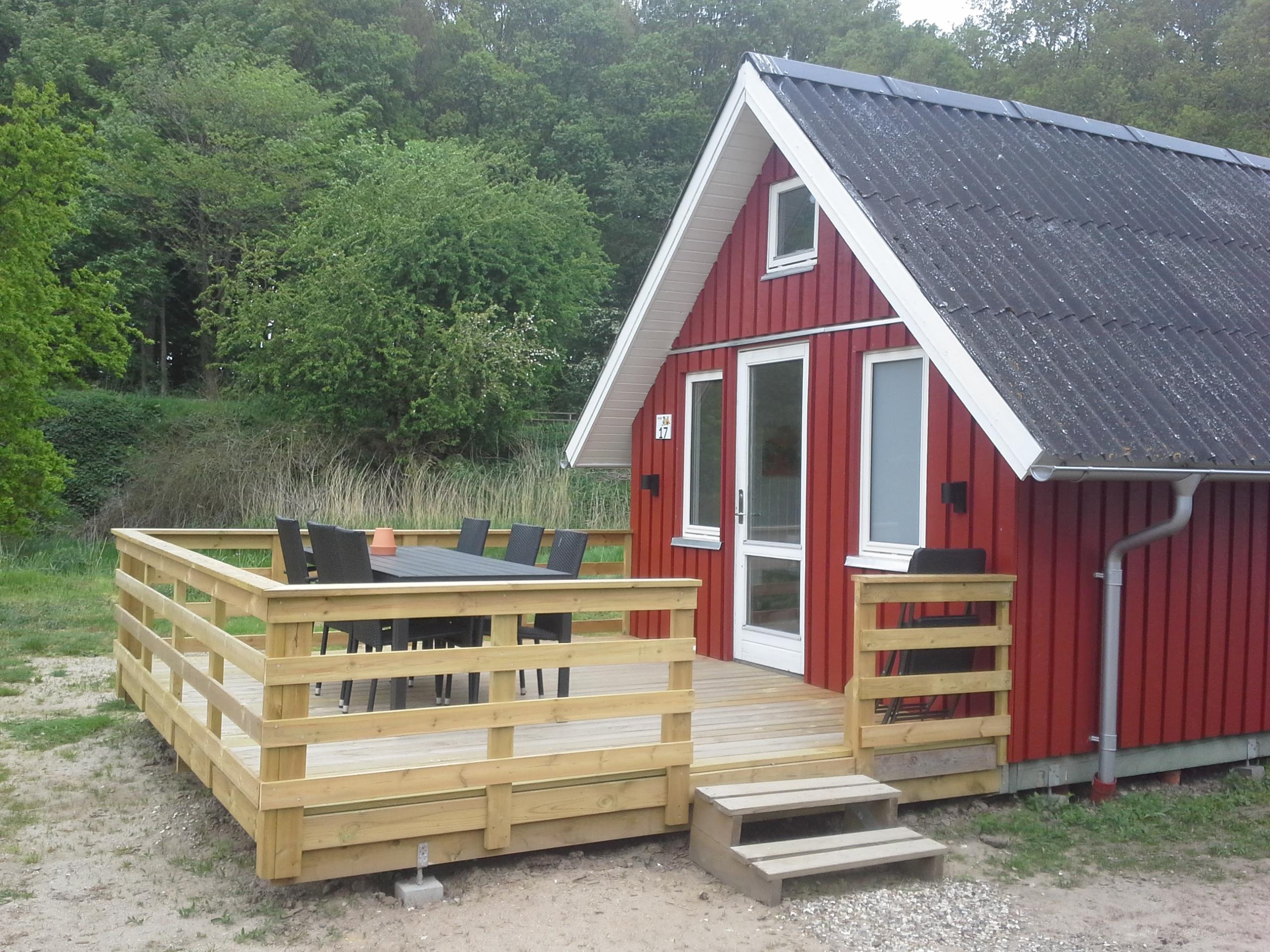 Location - Cabane Avec Wc, 2 Chambres Et 2 Loft - Horsens City Camping