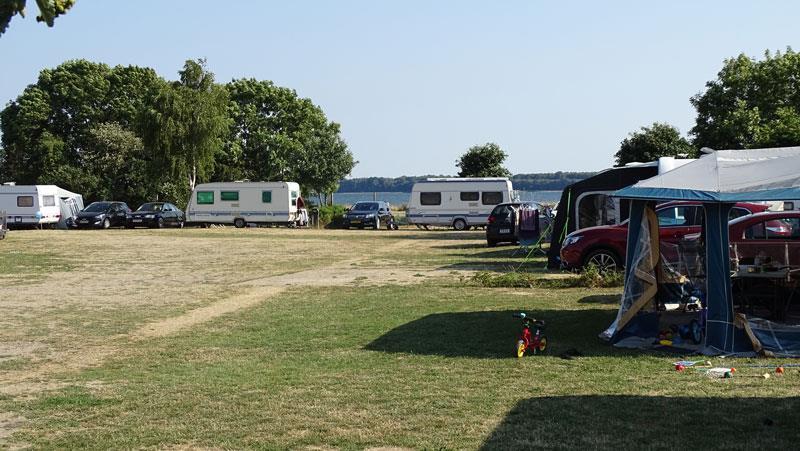 Emplacement - Emplacement Avec L'espace Pour Les Enfants - Horsens City Camping