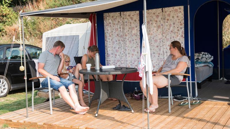 Location - Tente Glamping De 16M² - Horsens City Camping