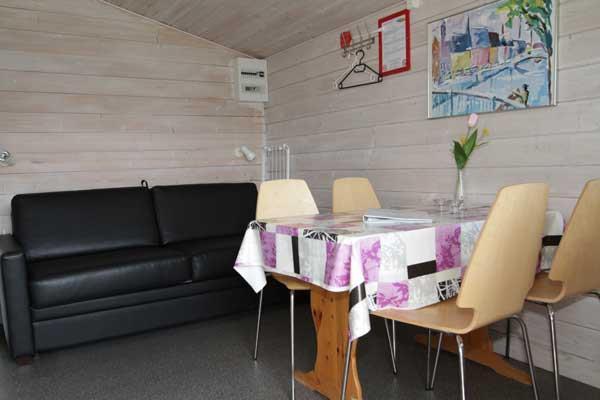 Location - Camping Cabine Avec Canapé-Lit Et Lits Superposés - Horsens City Camping