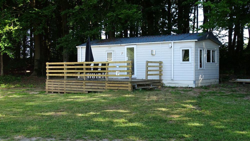 Location - Mobilhome Avec 2 Chambres Et Salle De Bain, Emplacement Pour 2 Adultes Et 2 Enfants Et Canapé-Lit Pour 2 Personnes Supplémentaires - Horsens City Camping