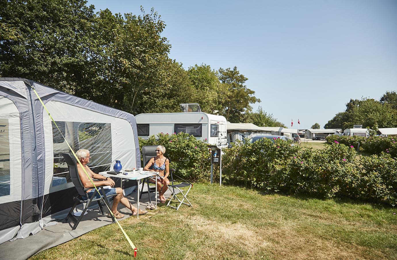 Emplacement - Emplacement Calme - Horsens City Camping