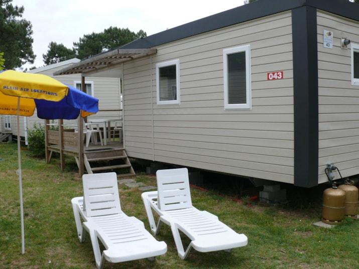MH ( - 5 ans) Gamme Bien-être 2 chambres 26 m² (3 lits dans la chambre enfants)-1