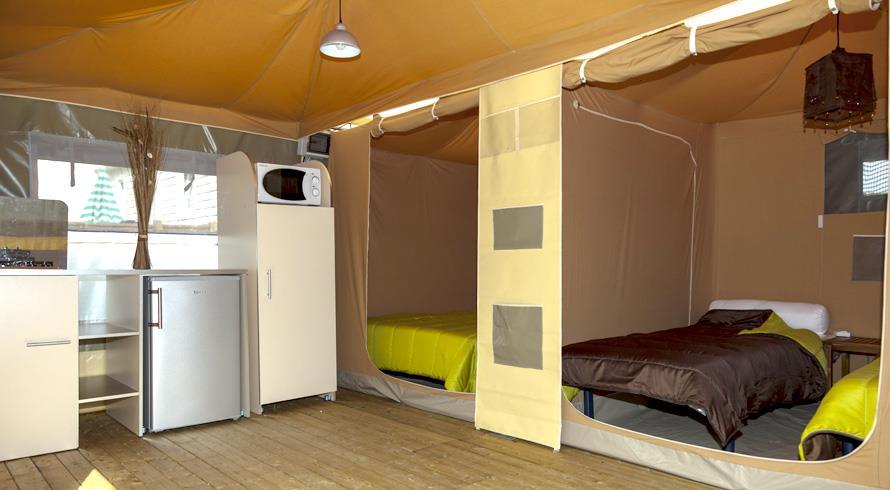 Bungalow toilé Eco 24m² 2 chambres sans sanitaires