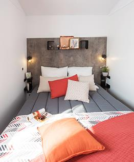 Mobil-home Premium 30m² 2chambres dont terrasse et lave-vaisselle