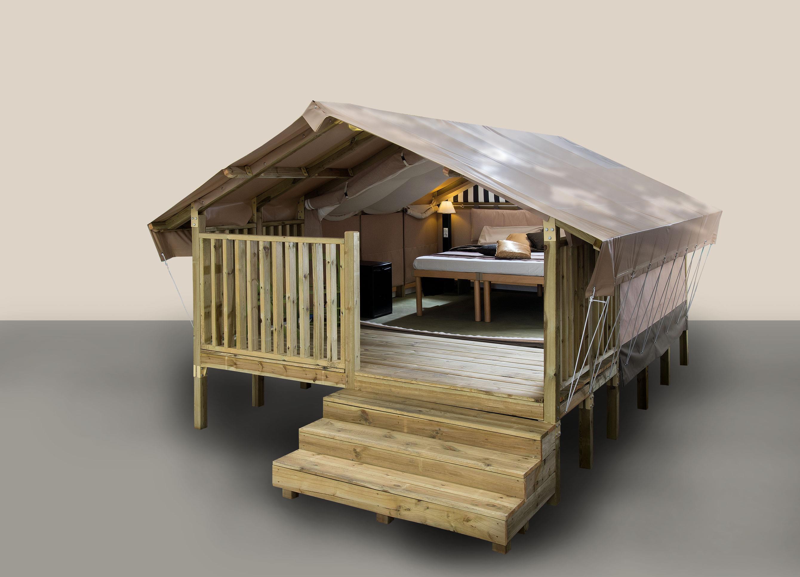 Location - Tente Glamping Mini Lodge - Camping Laguna Village