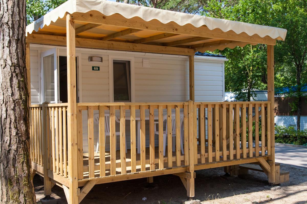 Location - Mobil Home Minicaravan Comfort - Camping Laguna Village