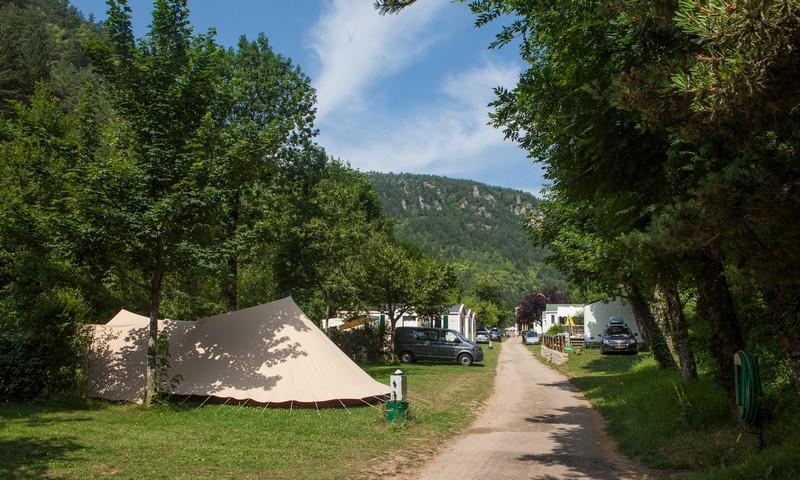 Camping le Capelan, Meyrueis, Lozère
