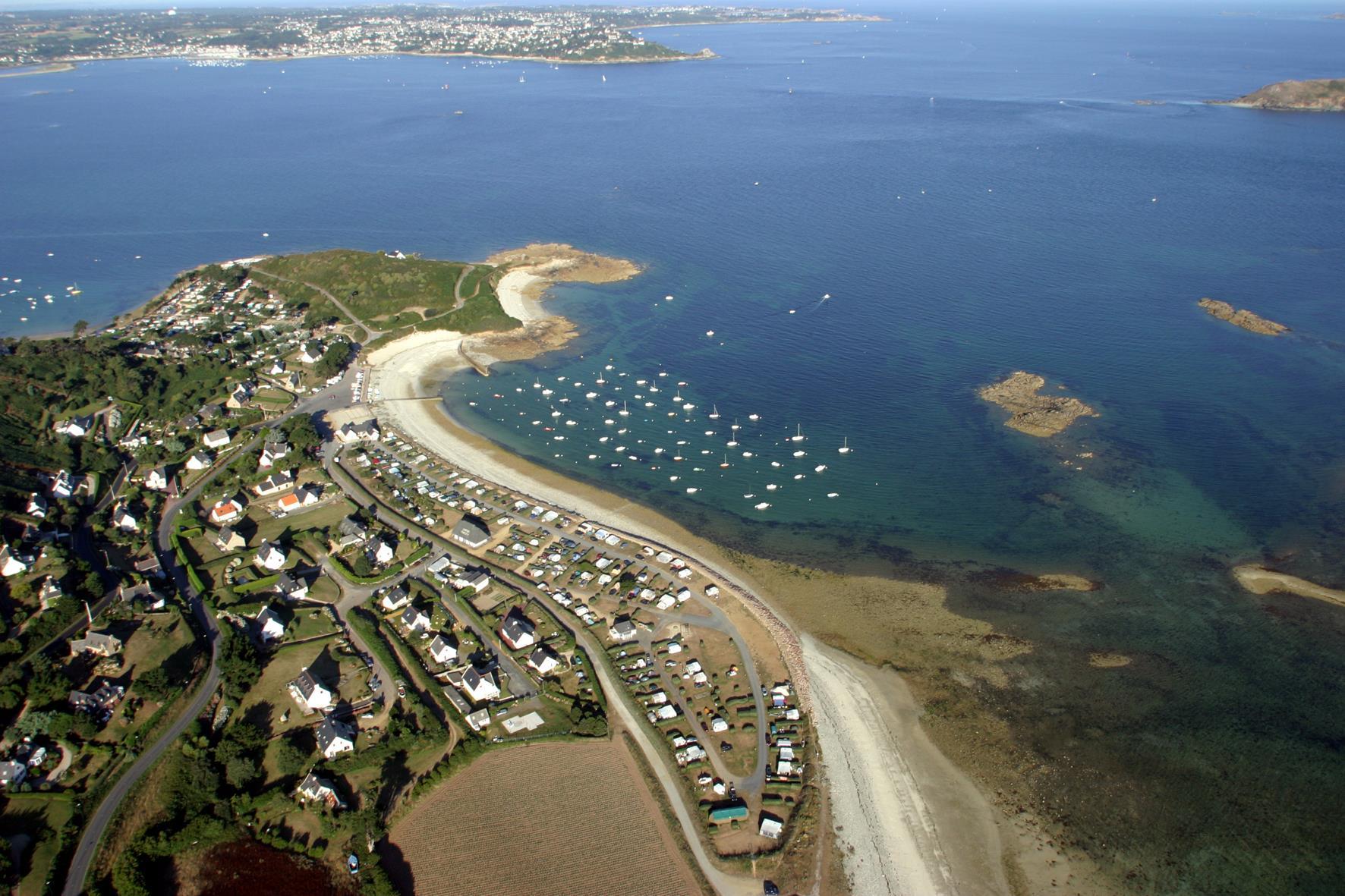 Camping les 7 Iles, Trélévern, Côtes-d'Armor