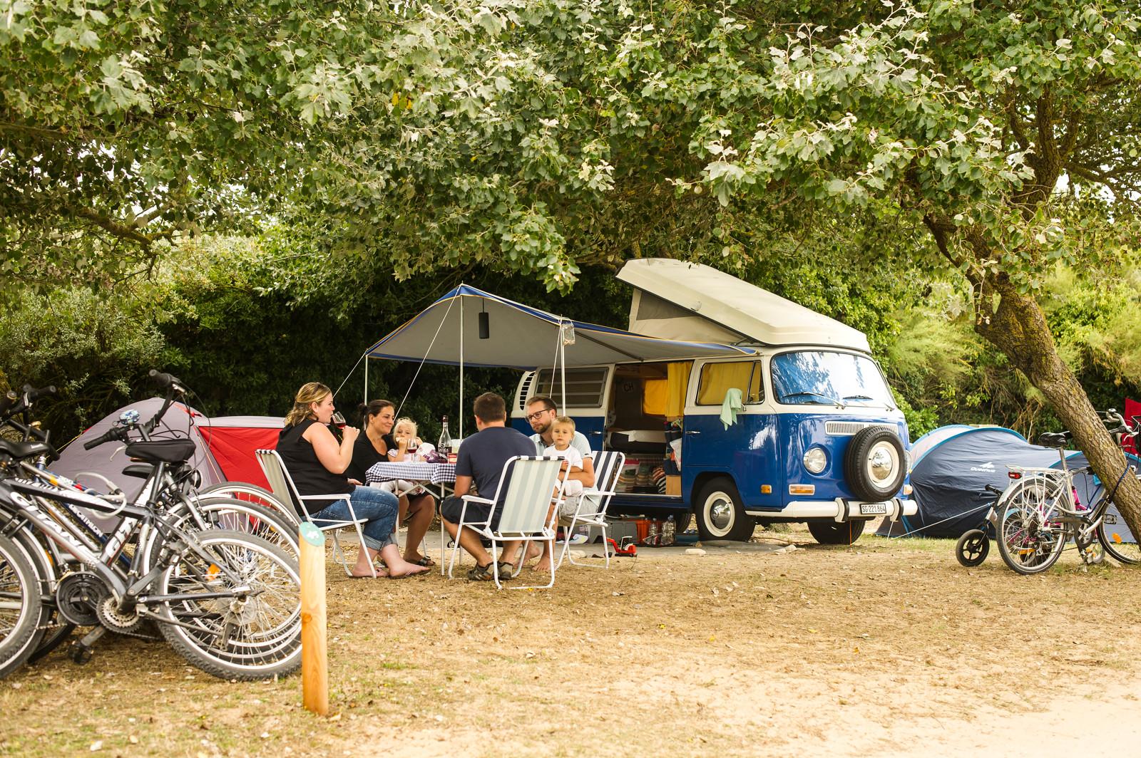 Camping Côte Sauvage Île-de-Ré, Sainte-Marie-de-Ré, Charente-Maritime