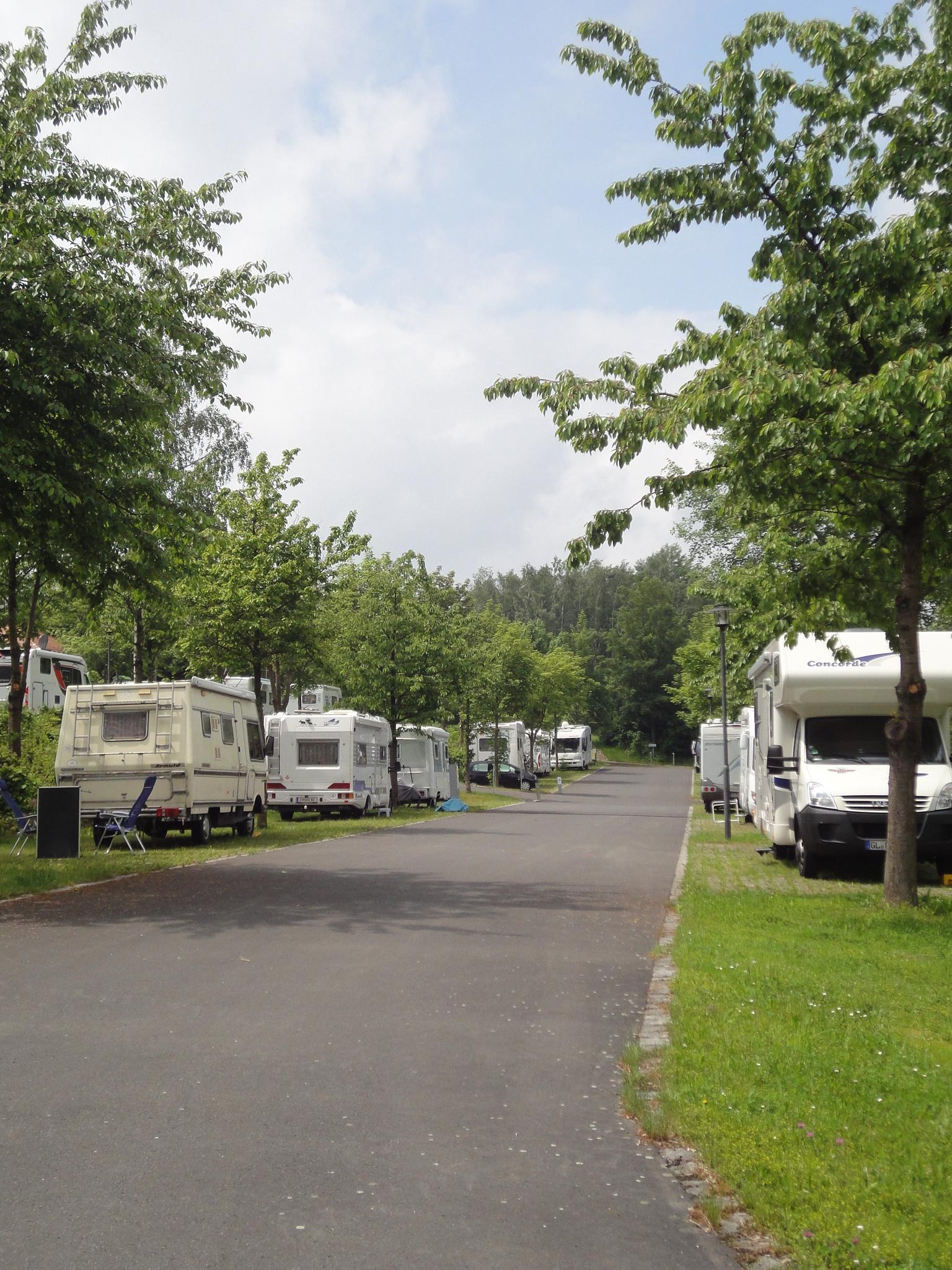 Emplacement - Reisemobilhafen Sibyllenbad - Campingplatz Platzermühle