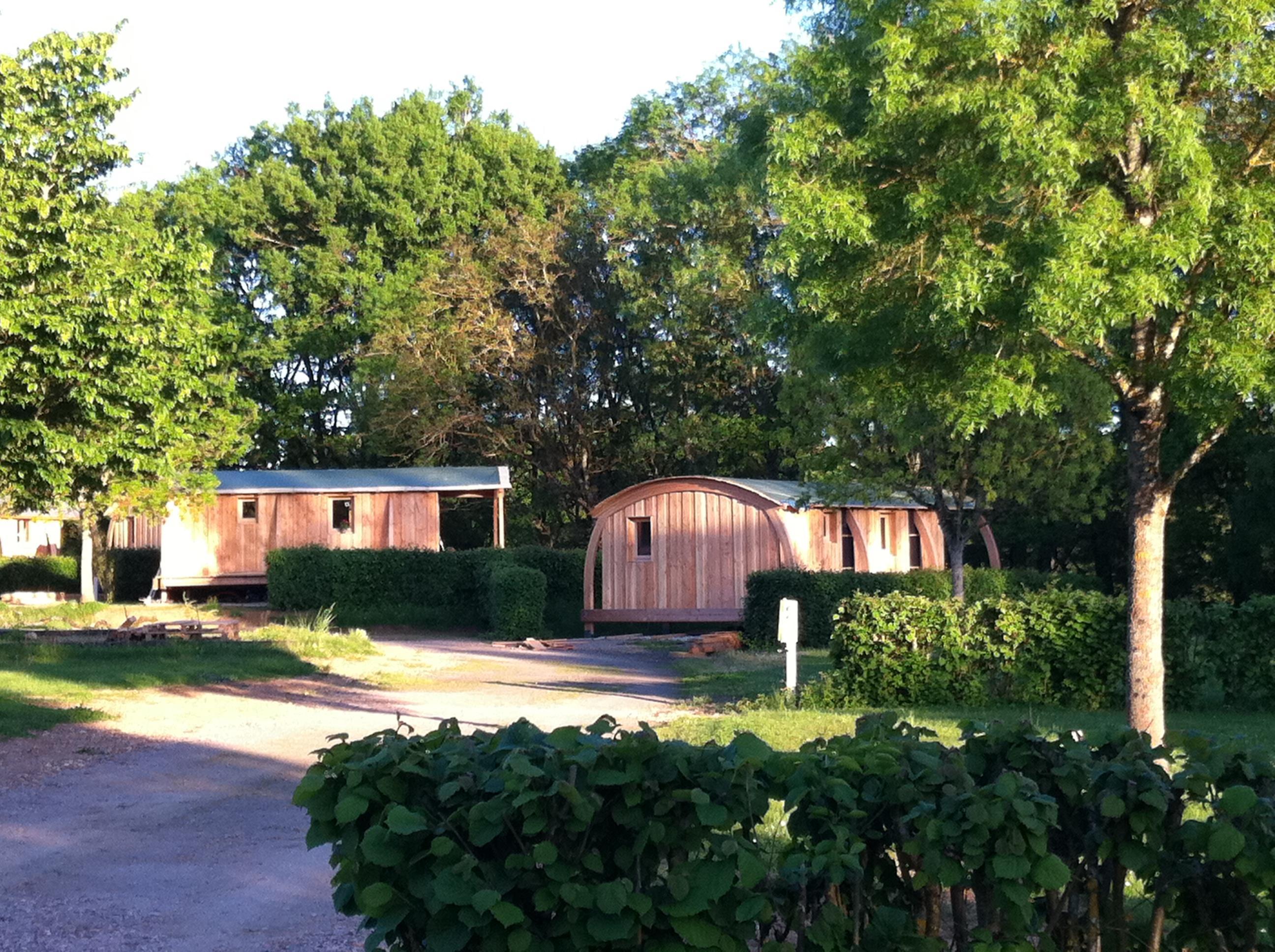 Camping Val Vert en Berry, La Châtre, Indre