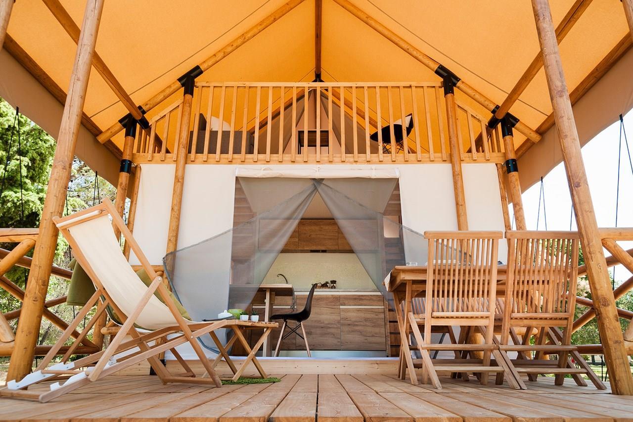 Location - Safari Lodge - Camping San Marco