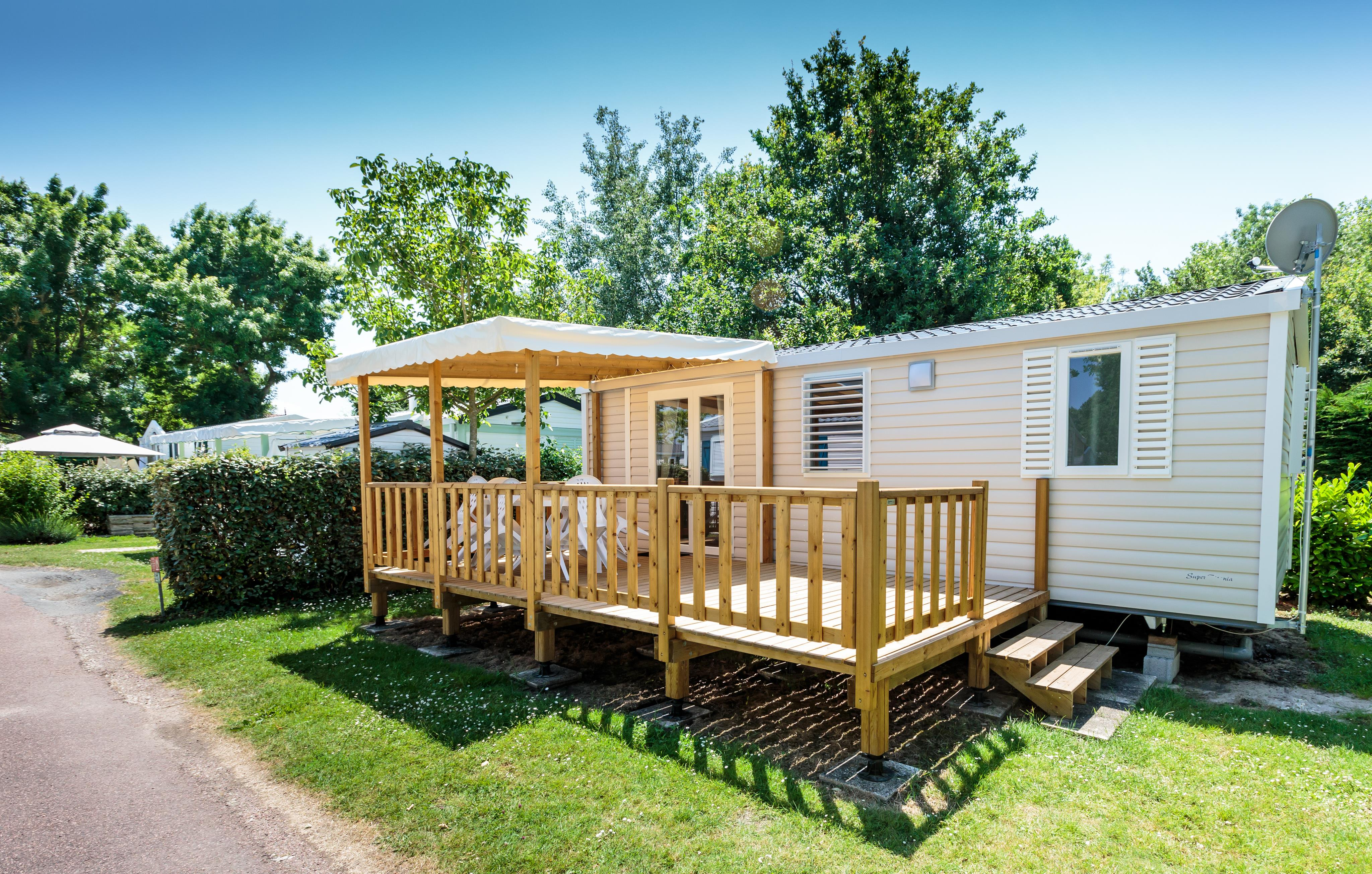 Mobil-Home Gamme Confort (2 Bedrooms)