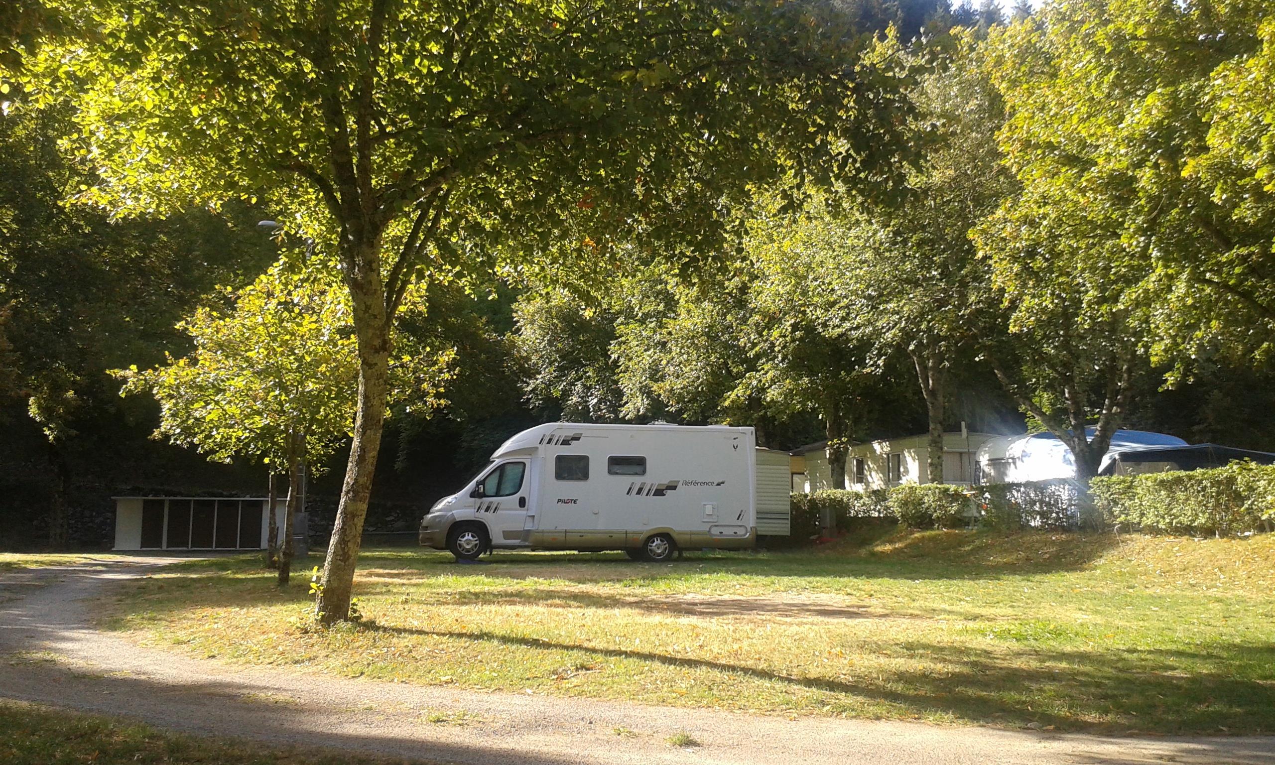 Camping Municipal le Pré Coulet, Saint-Pierreville, Ardèche