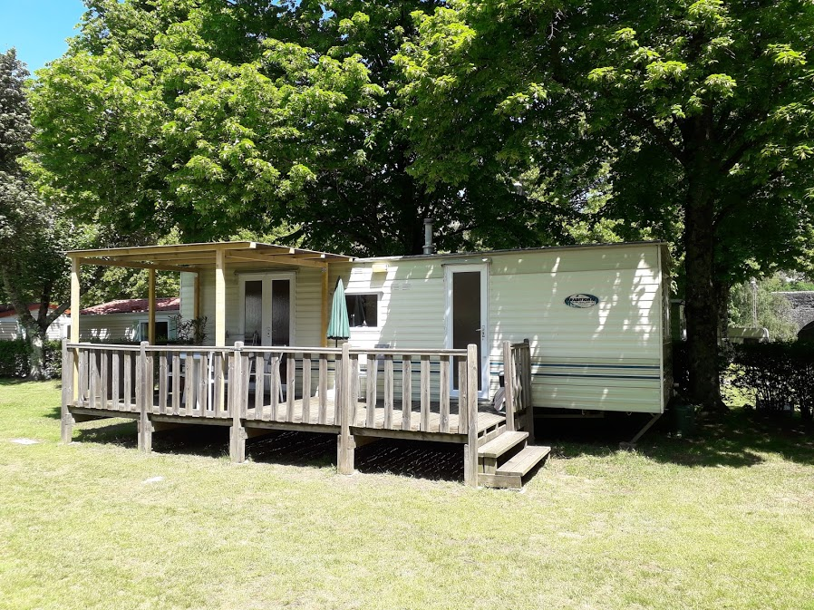 Accommodation - Mobile-Home 22M² - Camping municipal le Pré Coulet
