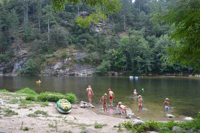 Camping Domaine de Gil, Ucel - Aubenas, Ardèche