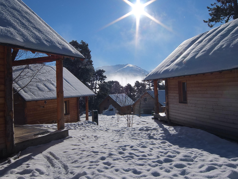 Camping Huttopia Font-Romeu, Font-Romeu-Odeillo-Via, Pyrénées-Orientales