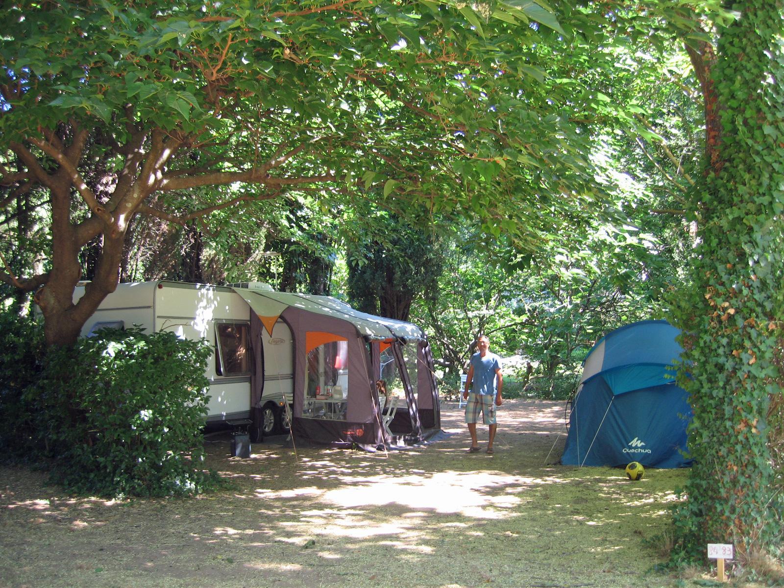 Emplacement - Forfait Premium (1 Tente, Caravane Ou Camping-Car / 1 Voiture / Électricité 10A) - Bord De Rivière + Wifi Gratuit - Camping Les Tomasses
