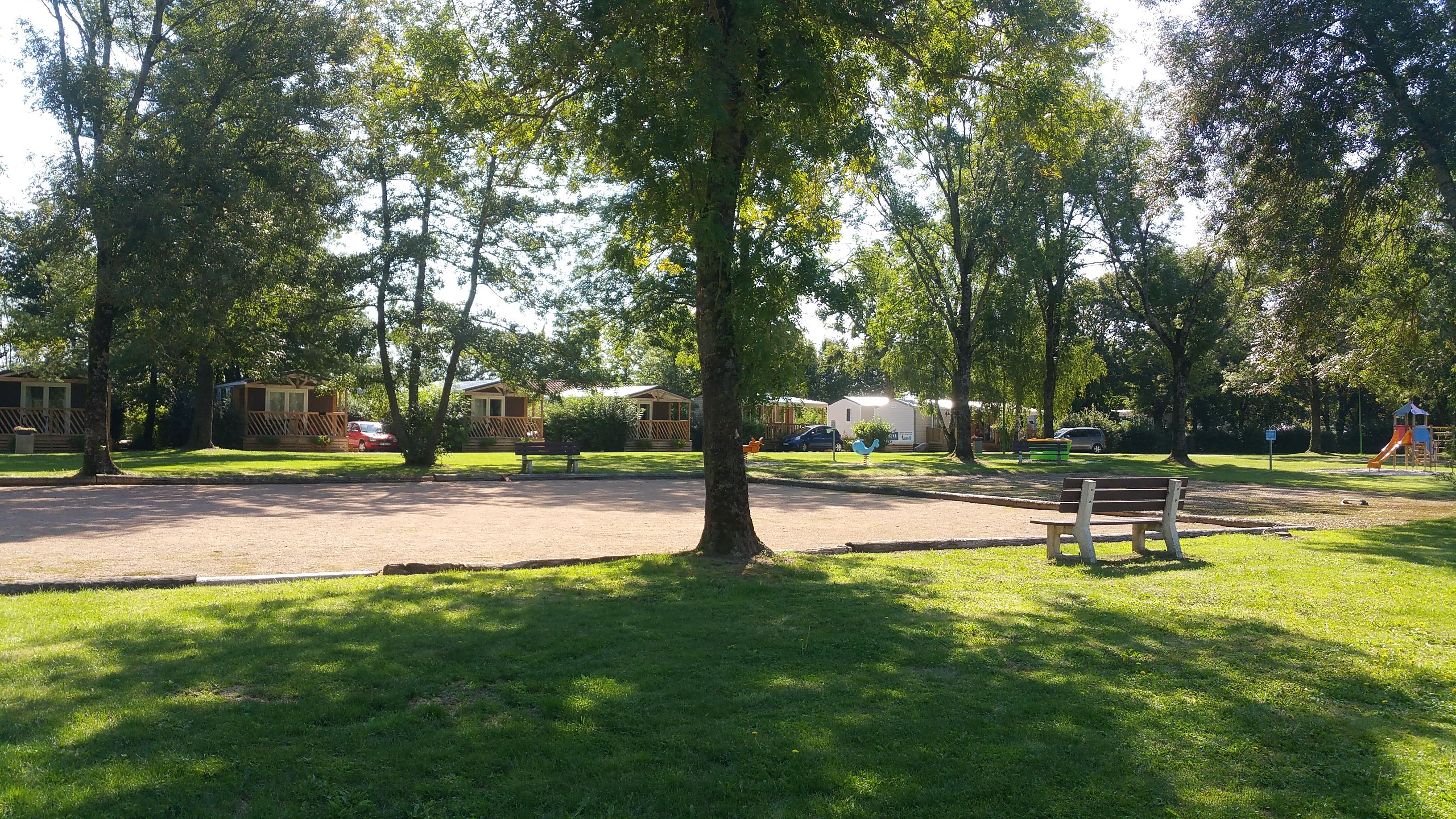 Huuraccommodatie - Cahita - Camping Le Paradis des Dombes