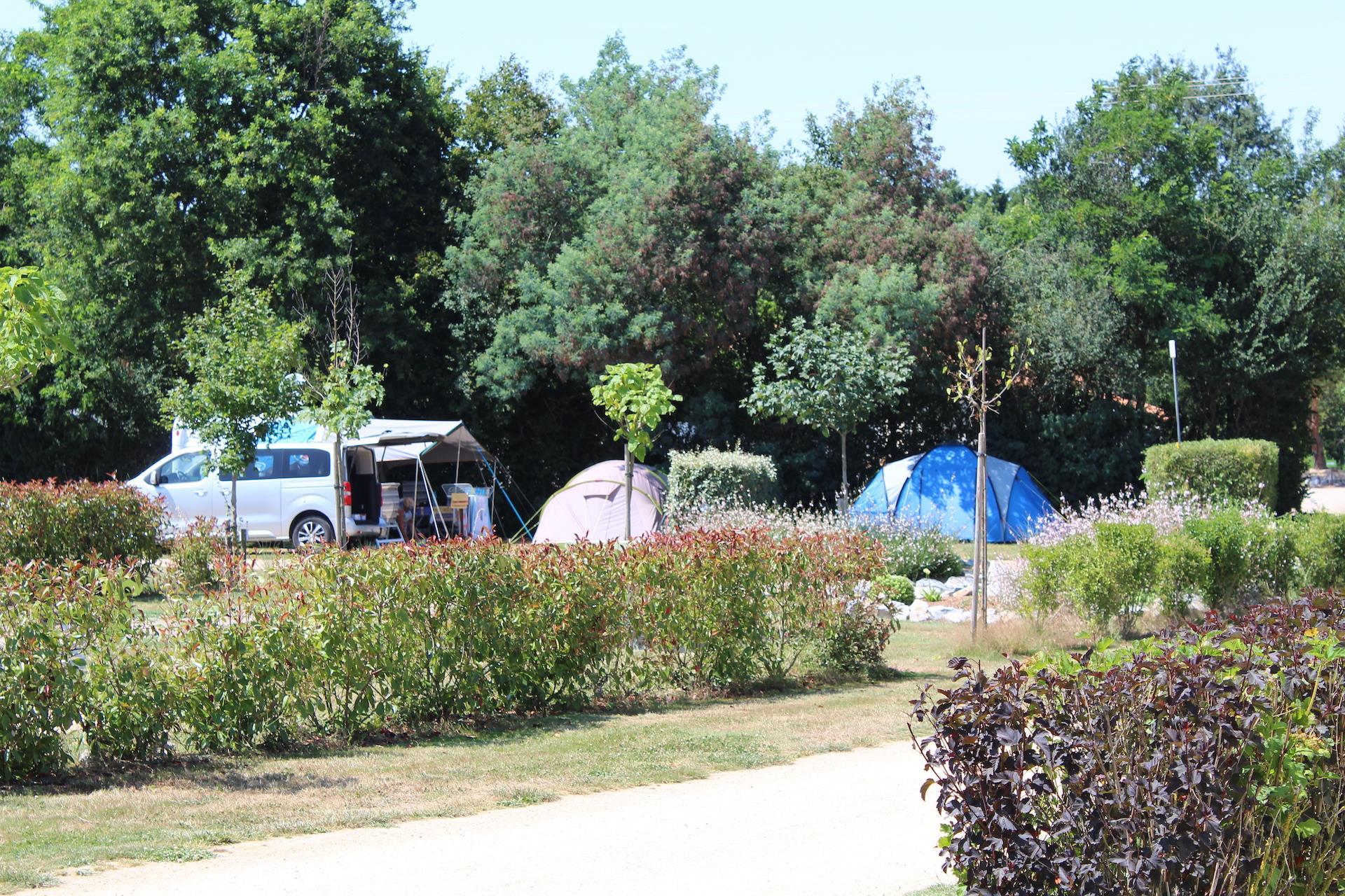 Emplacement voiture + tente ou caravane