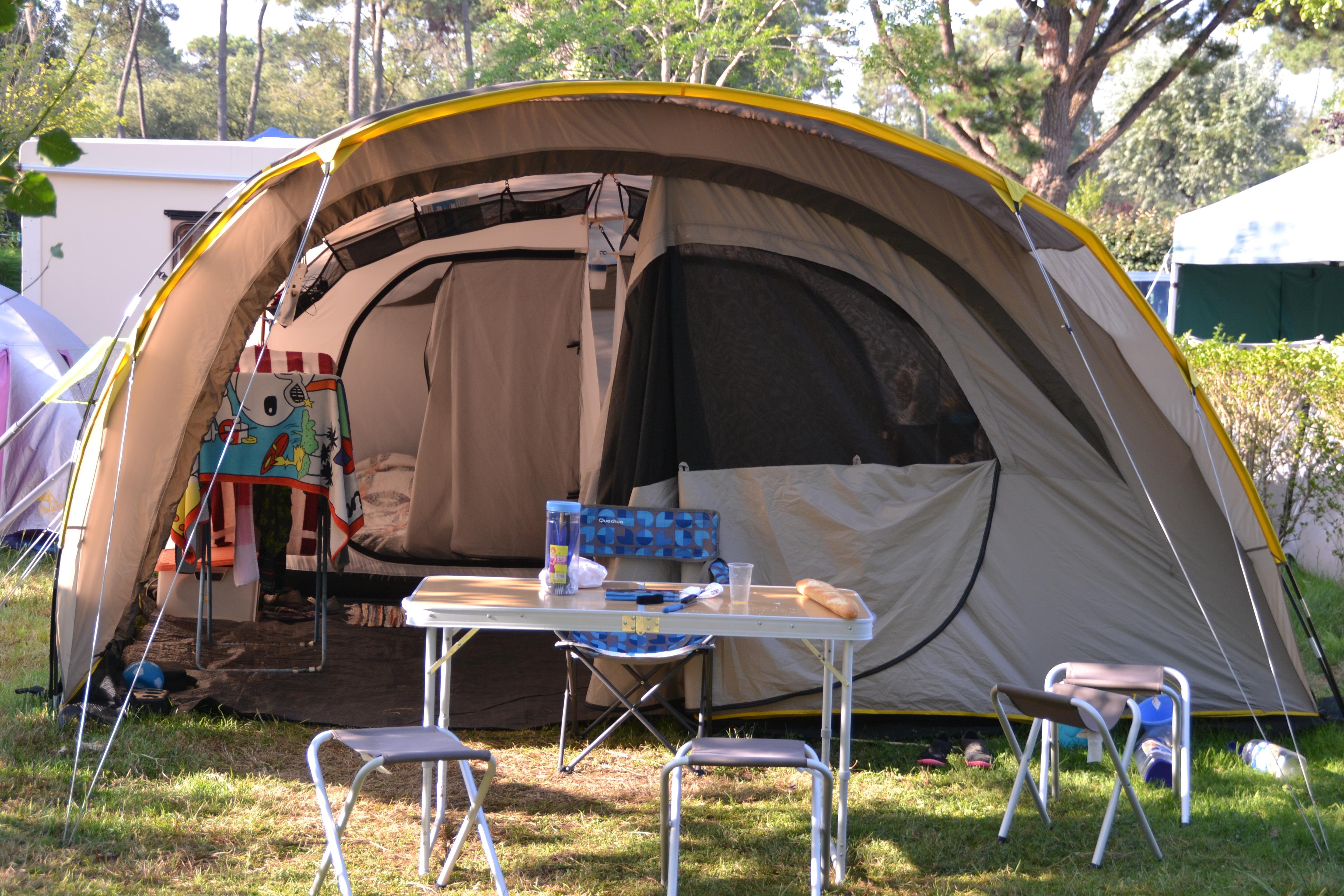 Forfait A (1 tente, caravane ou camping-car / 1 voiture)