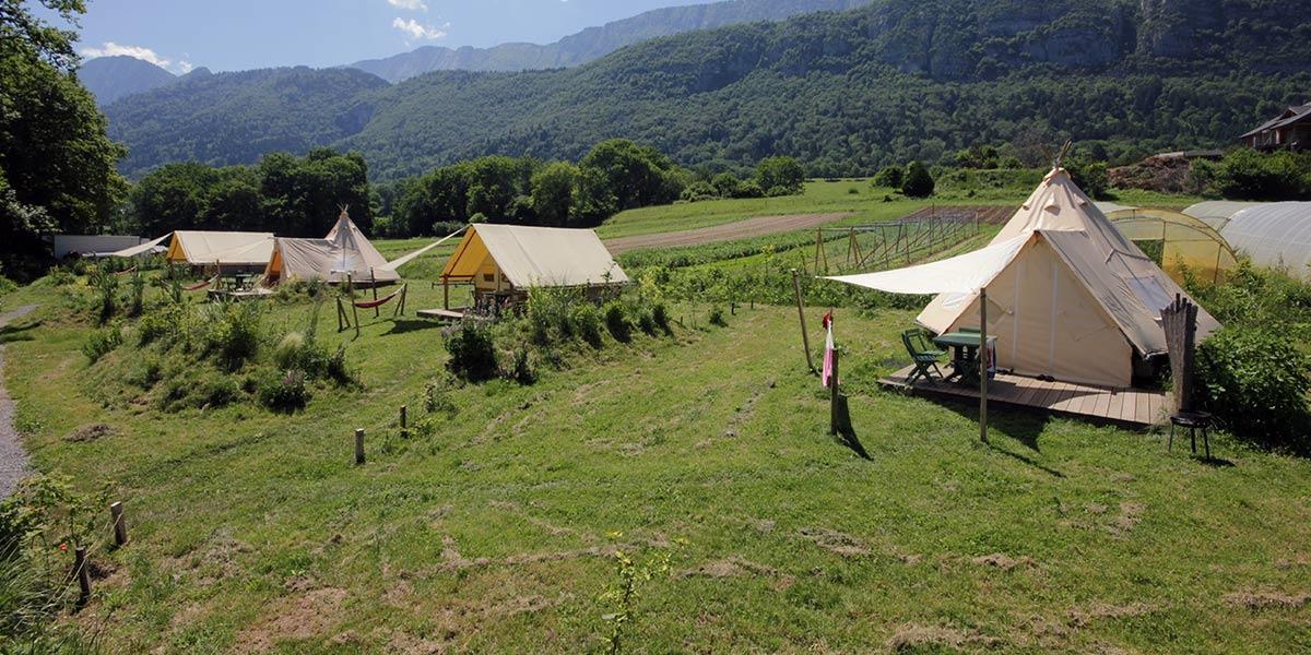 Camping le Taillefer, Doussard, Haute-Savoie