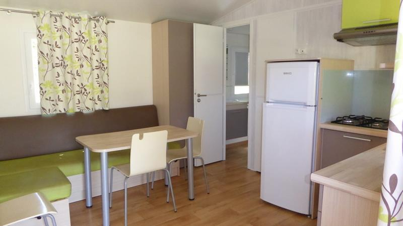 Accommodation - Mobil-Home 2 Chambres - Camping Les Vernades