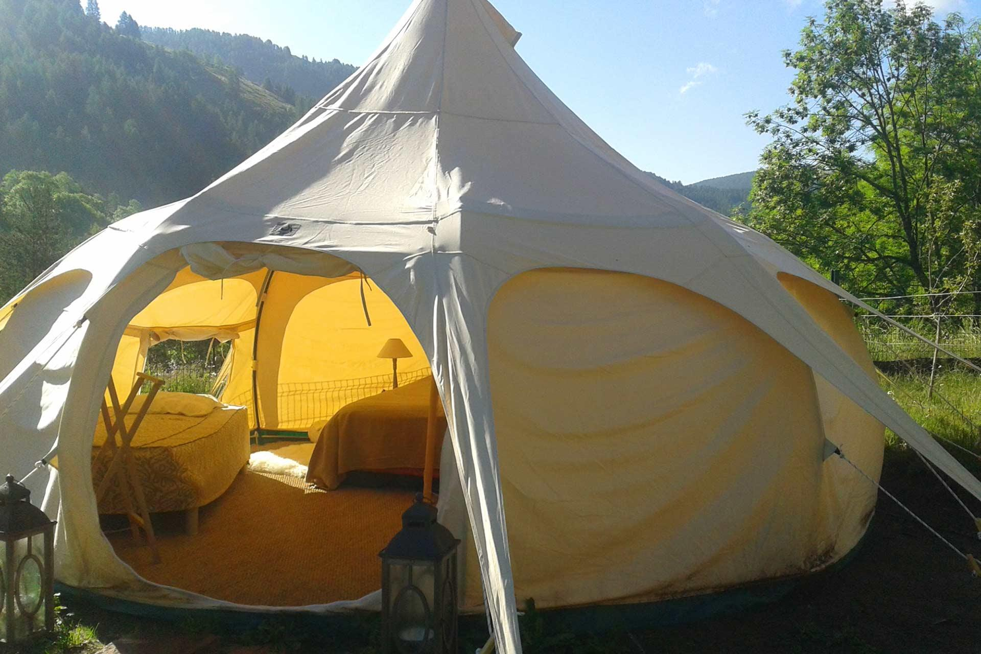 Camping le Cians, Beuil, Alpes-Maritimes