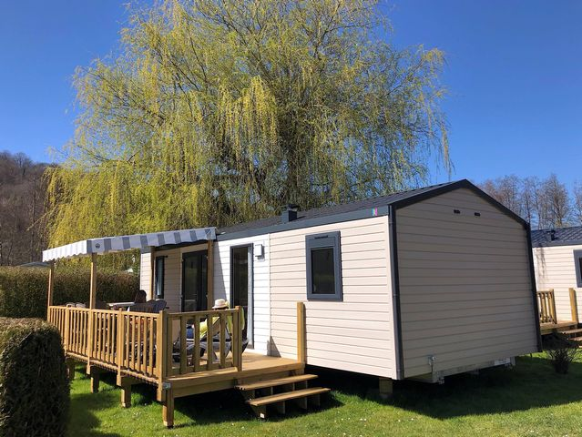 Mobile Home 3 Bedrooms Premium - Sheltered Terrace. Tv And Dishwasher